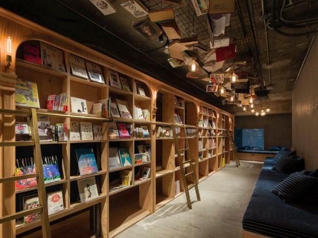 高坪效設計-青年旅館 Book and bed hostel